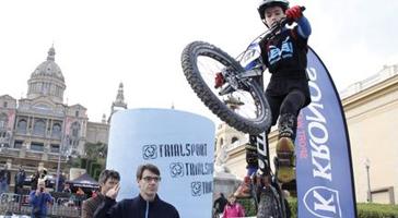 Jordi Tulleuda Copa Catalana de Trial Barcelona 2016