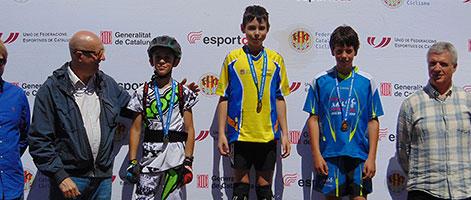 Jordi Tulleuda primer al campionat de Catalunya de trial 2017