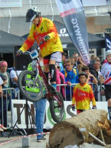 Jordi Tulleuda als Jocs mundials de Trial a Viborg