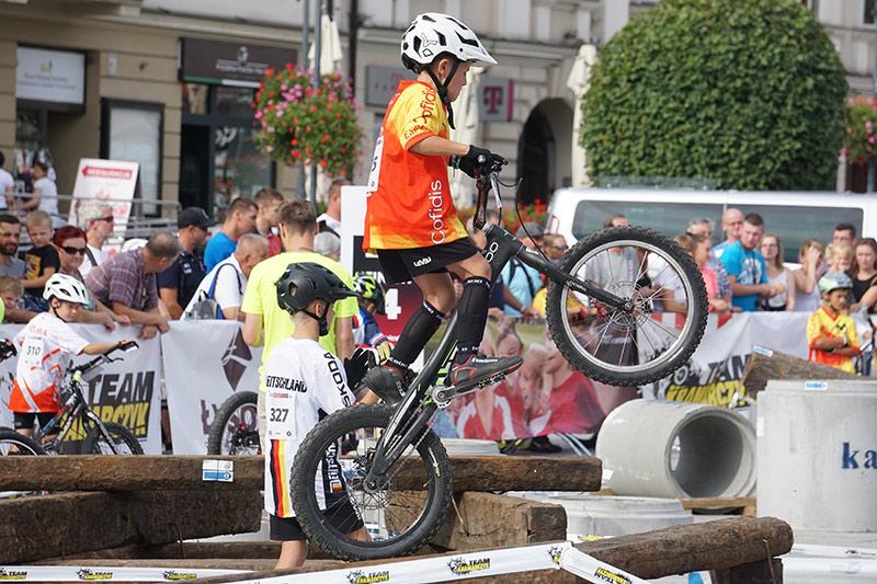 Max Solé als Jocs Mundials de Trial a Polònia