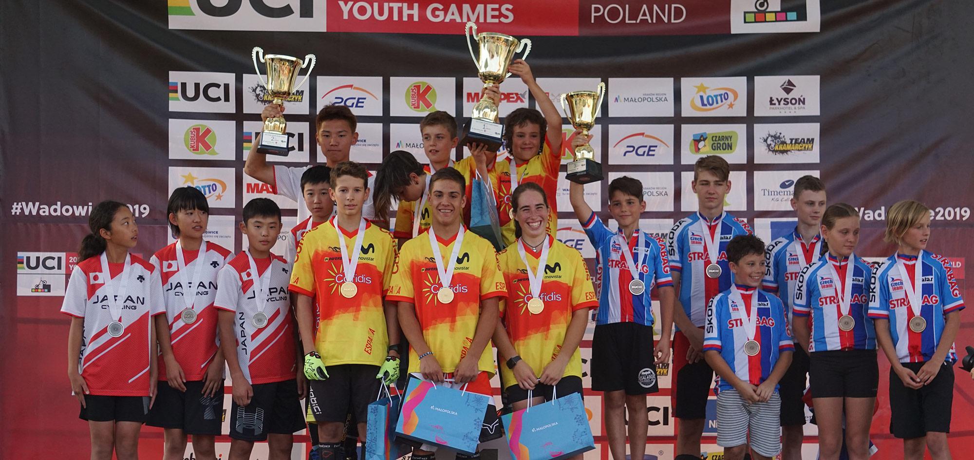 Podi trial de les nacions Jocs Mundials trial de Polònia
