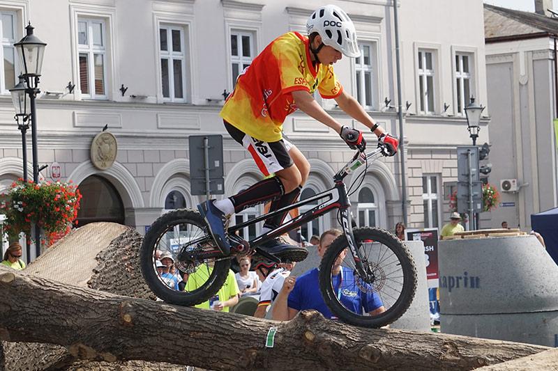 Jordi Tulleuda als Jocs Mundials de Trial a Polònia